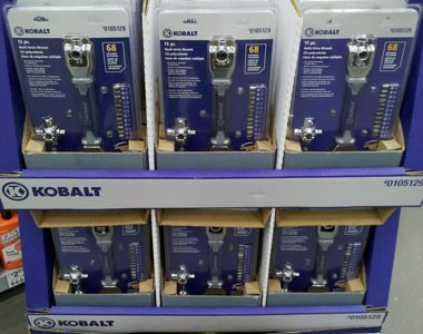 Kobalt Multi-Drive Wrench at Lowes for Fathers Day