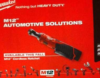 Milwaukee M12 Cordless Ratchet Automotive Solutions