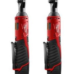 Milwaukee M12 Cordless Ratchets 1/4 and 3/8