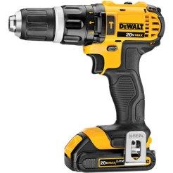 Dewalt 20V Max Cordless Hammer Drill DCD785C2_1