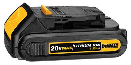 Dewalt 20V Max Cordless Power Tool Standard Battery DCB201_1