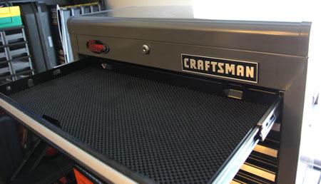 Craftsman Ball Bearing Chest Drawer Open
