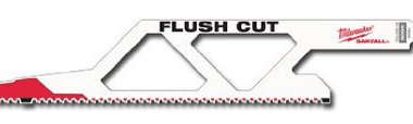 Milwaukee Flush-Cutting Sawzall Blade