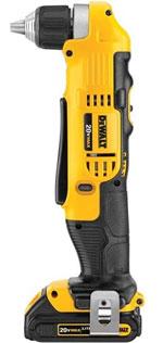 DEWALT DCD740C1 20-Volt MAX Li-Ion Compact Right Angle Drill Kit