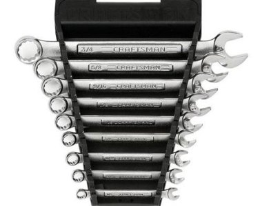Craftsman 9Pc Wrench Set