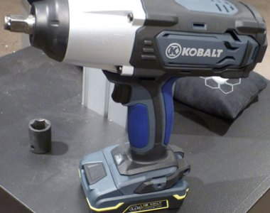 Kobalt 18V Impact Wrench with LiIon Battery