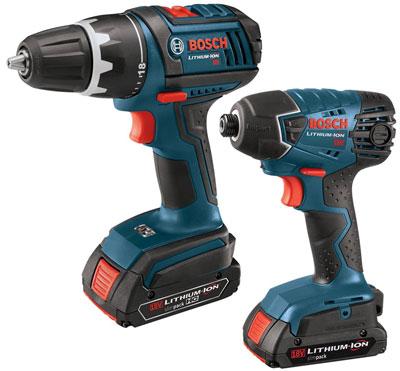 Bosch CLPK232-181 18V Drill Impact Combo