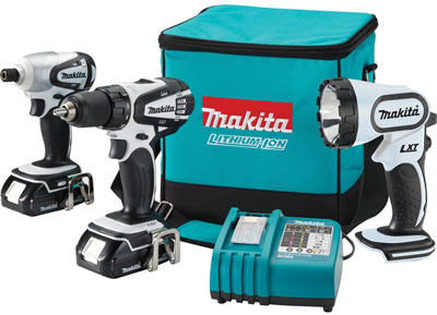 Makita LCT300W 18V Drill Driver Impact Driver Combo