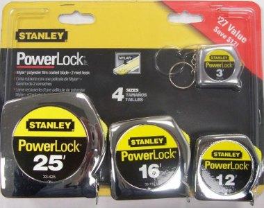 Stanley PowerlockTape Measure Set