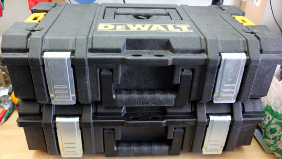 Dewalt Small Tough Case Stacked Front