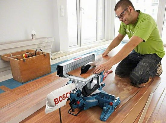 Bosch GTM 12 Professional Combination Saw Table Mode