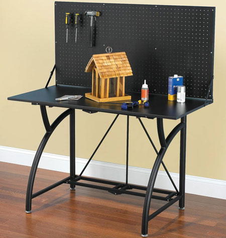 Compact Folding Workbench
