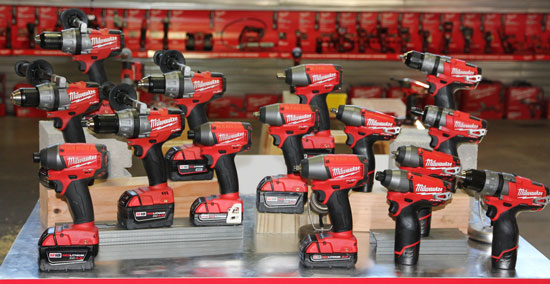 Milwaukee Fuel Brushless Drill Driver Family