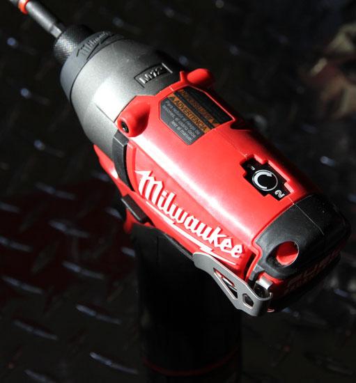 Milwaukee M12 Fuel Impact Driver Speed Control