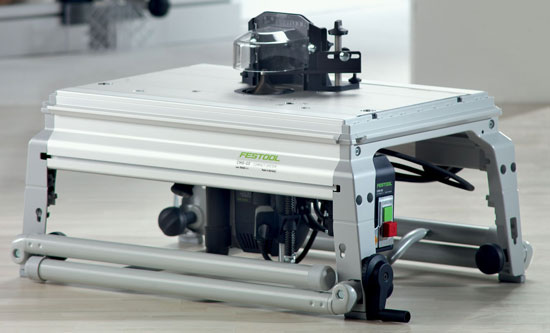 Festool CMS Router Table Portability