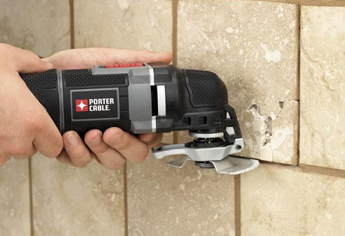 Porter Cable Oscillating Multi-Tool PCE605K Grout Removal