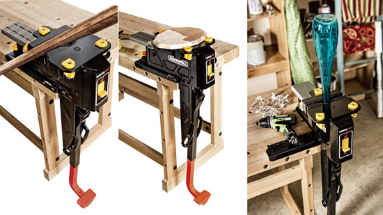 Rockwell BenchJaws Vise with Multi-Purpose Jaws