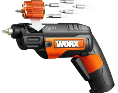 Worx QBit Cordless Screwdriver Design