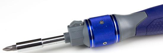 Kobalt Double Drive Screwdriver Plastic Selector