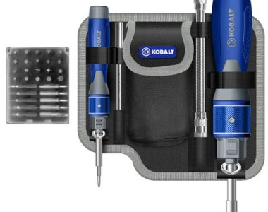 Kobalt Double Drive Screwdriver Set Bonus Pouch