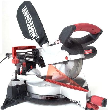 Craftsman 7-1-4 Sliding Compound Miter Saw