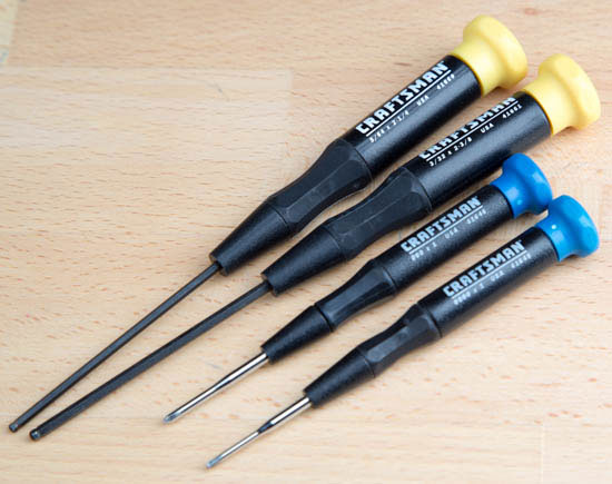 General Tools and Craftsman Precision Screwdrivers