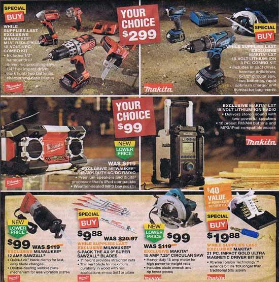Home Depot Black Friday 2012 Tool Deals 10