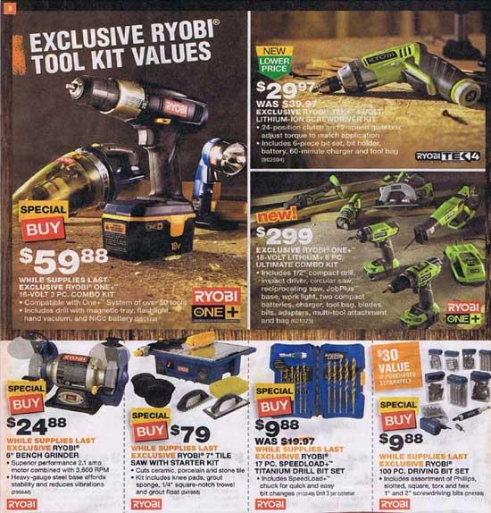 Home Depot Black Friday 2012 Tool Deals 7