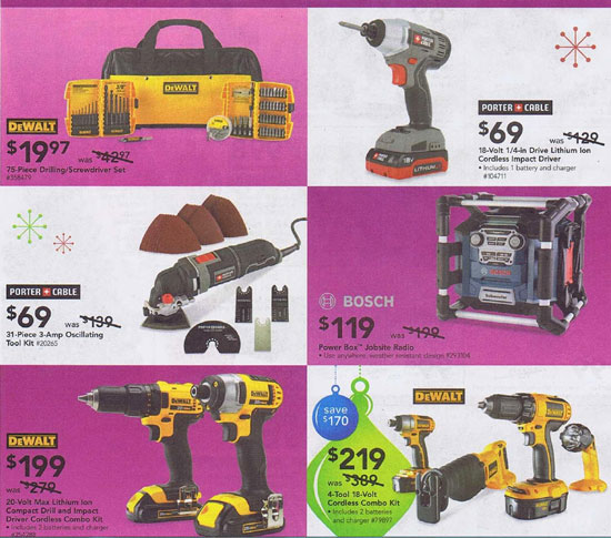 Lowes Black Friday 2012 Tools 4