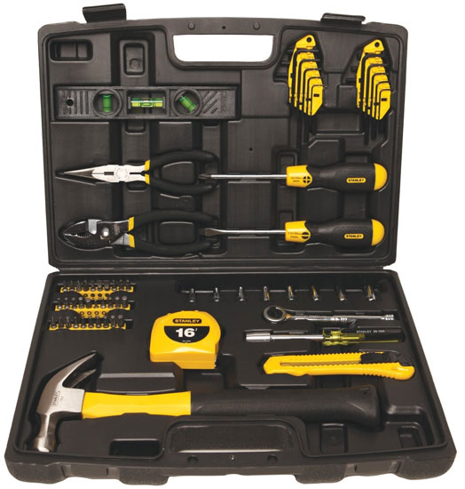 Stanley 65pc Homeowner Tool Kit