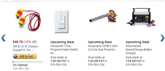 Amazon Lightning Deals 12-5-12 Page 2