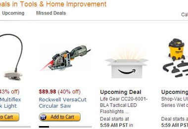Amazon Tools Lightning Deals 12-12-12 1