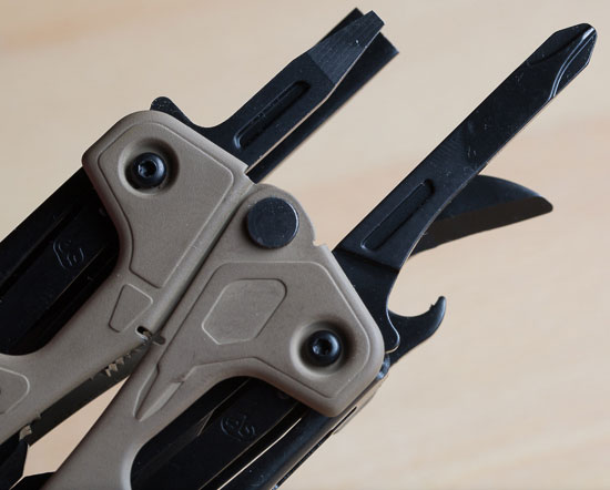 Leatherman OHT Multi-Tool Screwdrivers and Can Opener