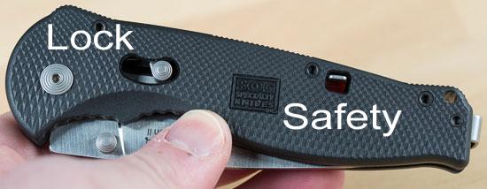 Sog Flash II Knife Functions