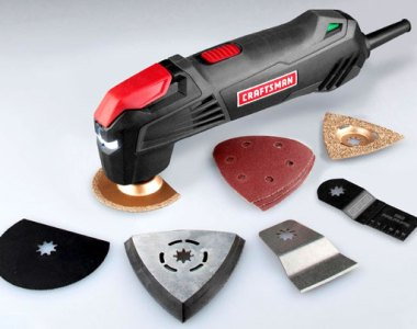 Craftsman Quick Release Corded Oscillating Multi-Tool