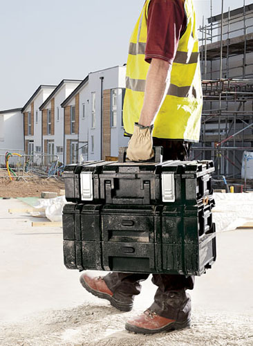 Dewalt DS250 ToughSystem Tool Box Stacked