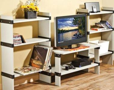 Rockler I-Semble Slip-On Shelf Brackets Combination Setup