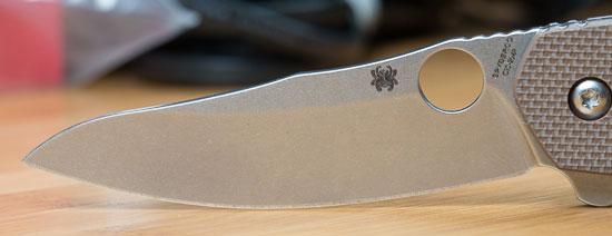 Spyderco Southard Knife Blade Profile