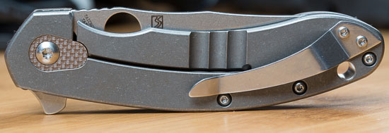 Spyderco Southard Knife Pocket Clip and Frame Lock