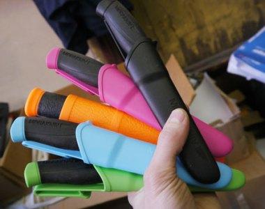Mora Companion Knife Color Options