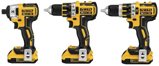 Dewalt 20V Max XR Brushless Drill Driver Family