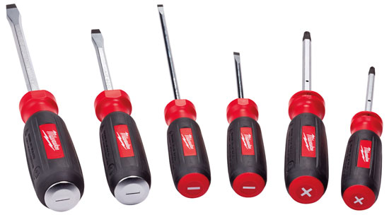 Milwaukee 2013 New Screwdrivers