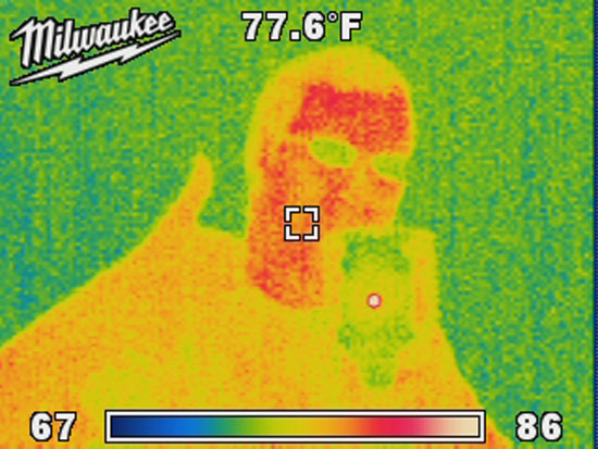 Thermal Image of Reflection