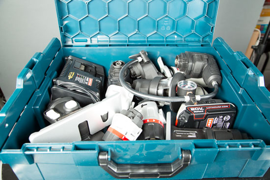 Bosch L-Boxx-2 with Craftsman Bolt-On System