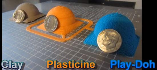Hyrel 3D Soft Materials Print Examples
