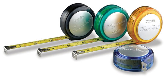 Komelon Touch Lock 10 Foot Tape Measures