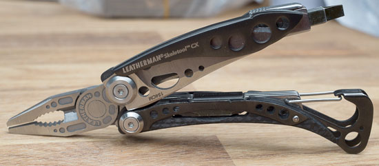 Leatherman Skeletool CX Multi-Tool Open