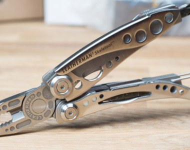 Leatherman Skeletool Pliers Open
