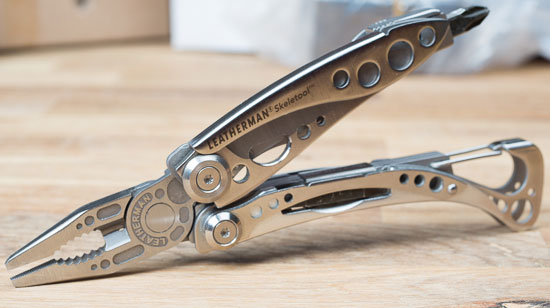 Leatherman Skeletool Pliers Open