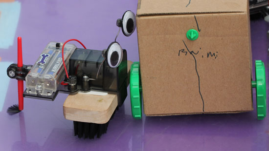 Maker Faire NYC 2012 Brush Bot